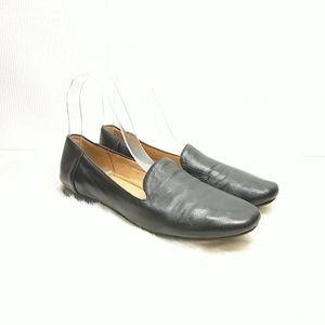 Naturalizer Black Leather Loafer Flats Size 7.5